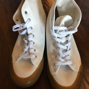 Old Navy Men's White High Top Sneakers
